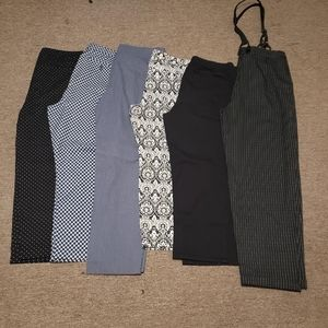Multiple pairs of dressy pants